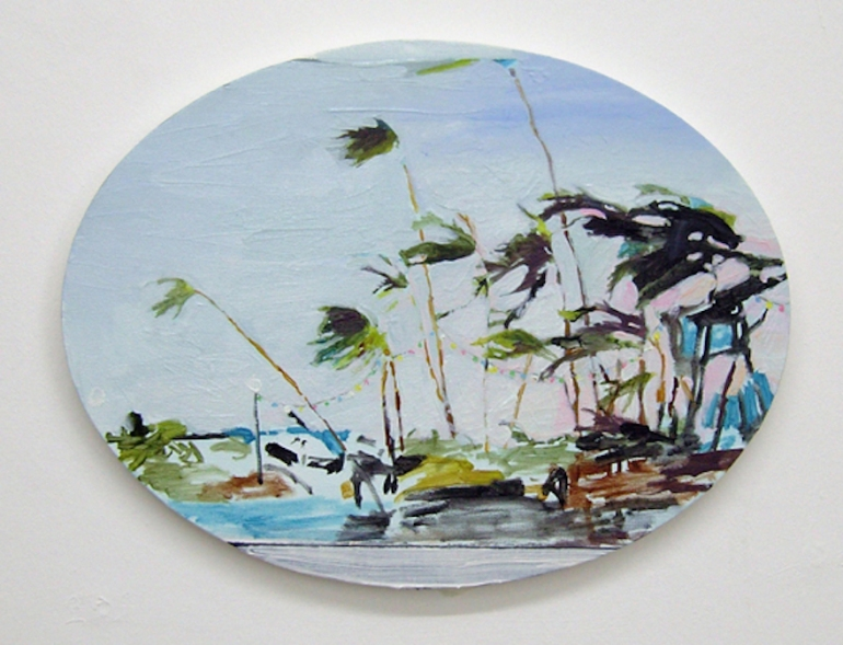 Untitled (Palms blowing) 2009
